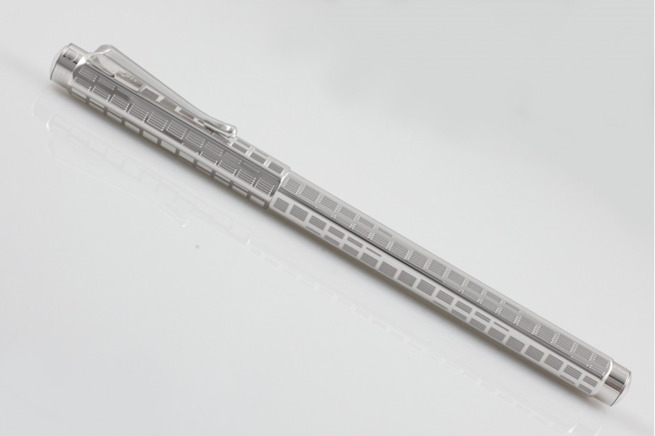 Caran D`Ache Ecridor Rotation Silver Roller Ball Pen