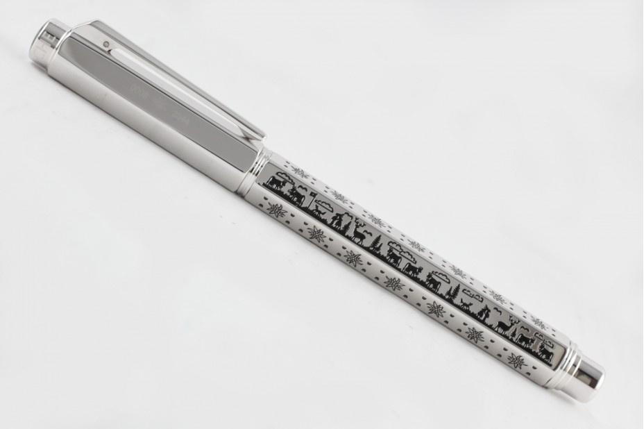 Caran D`Ache Limited Edition Oberalp Rhodium Fountain Pen