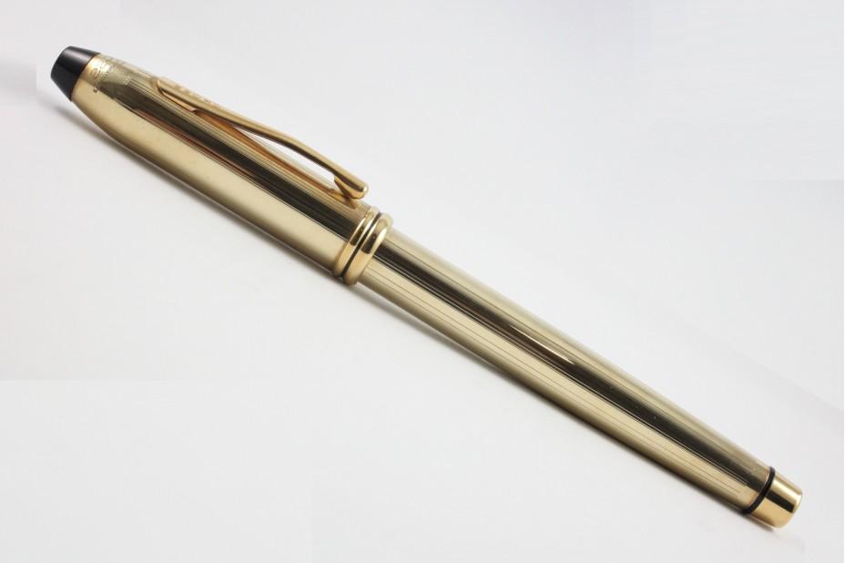 Cross Townsend 10KT Gold Rollerball Pen