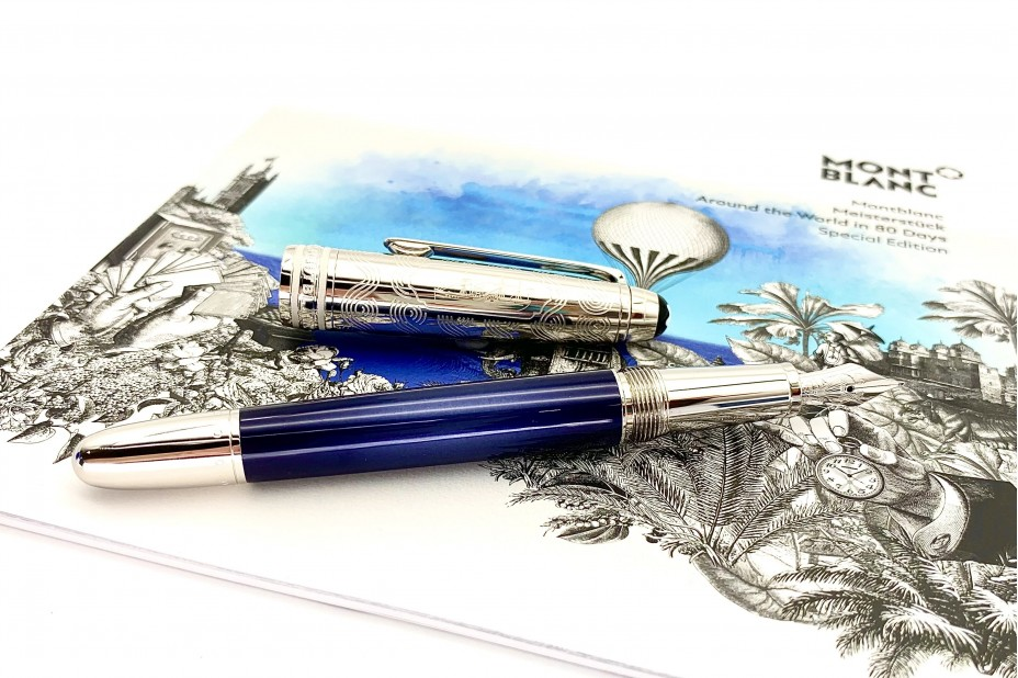 Montblanc MB.126348 Meisterstuck Around the World in 80 days Doue Classique 145 Fountain Pen