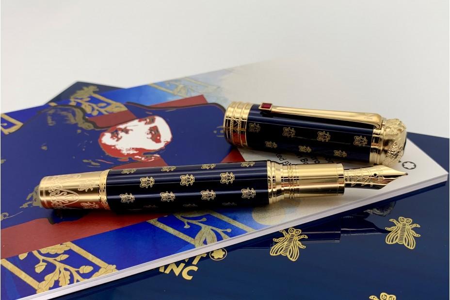 Montblanc MB.127033 Limited Edition 4810 Patron of Art Homage to Napoleon Bonaparte Fountain Pen
