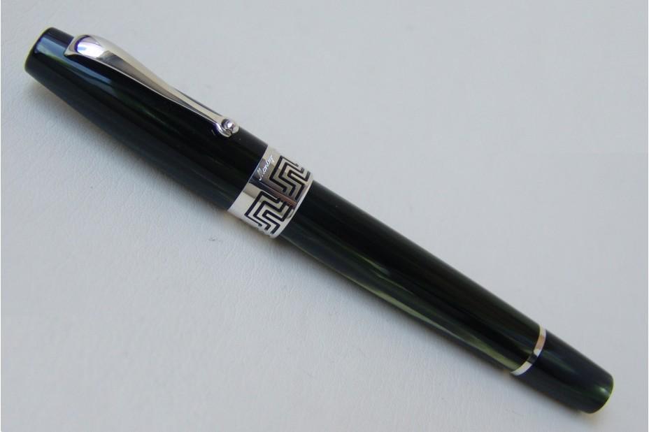 Montegrappa Extra 1930 Bamboo Black Celluloid Fountain Pen