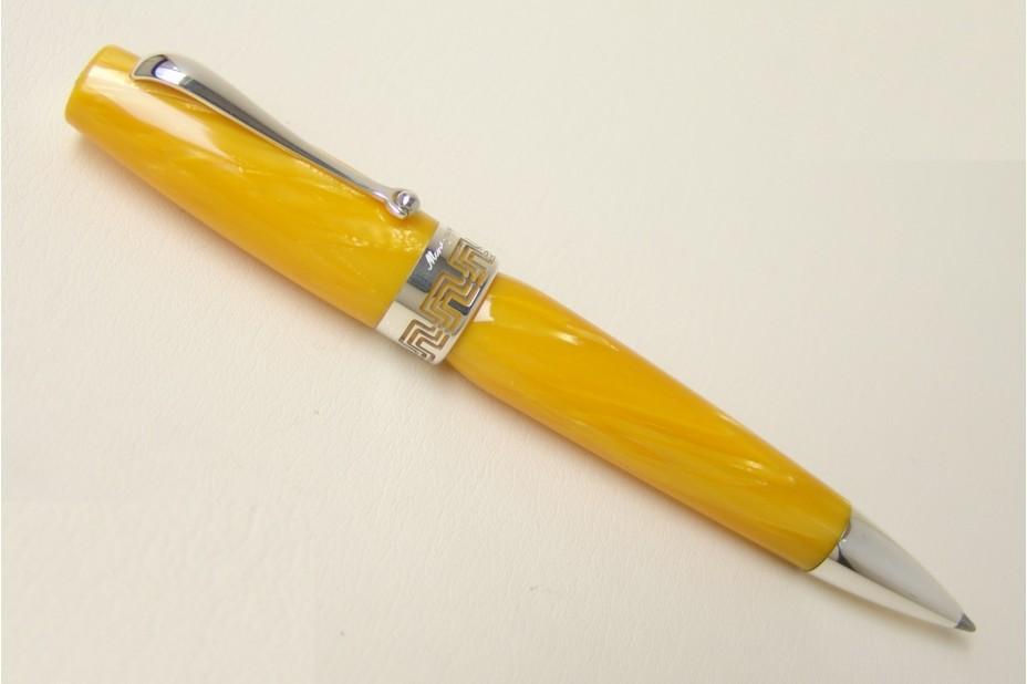 Montegrappa Miya Celluloid Yellow BallPoint Pen