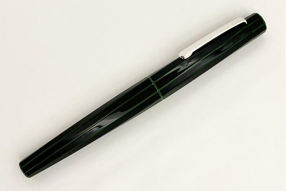 Nakaya Decapod TW Writer Midori-Tamenuri Fountain Pen