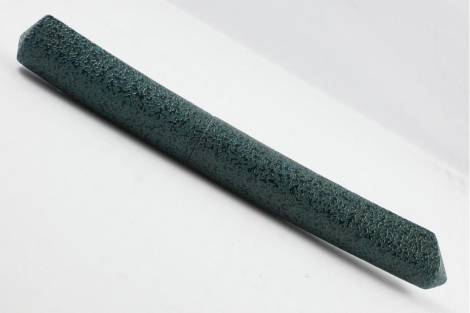 Nakaya Dorsal Fin Version 2 Ishime Kanshitsu Green Tamenuri Fountain Pen