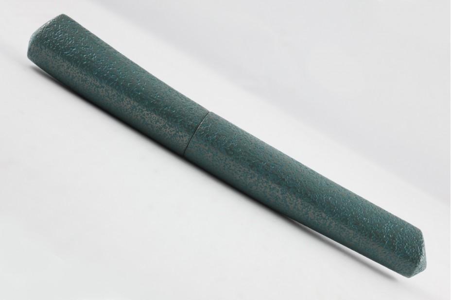 Nakaya Dorsal Fin Version 2 Silver Tin Green Kanshitsu Fountain Pen