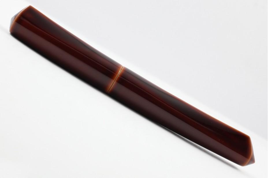 Nakaya Dorsal Fin Version 2 Toki Tamenuri Fountain Pen