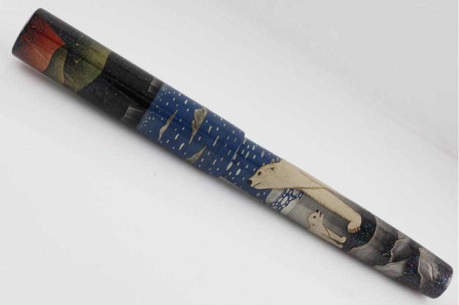 Namiki Limited Edition Emperor Polar Bear Fountain Pen