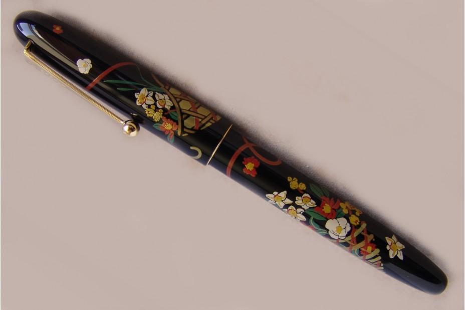 Namiki Nippon Art Flower Basket Fountain Pen