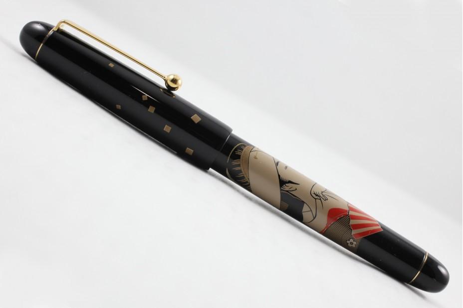 Namiki Nippon Art Toyohina Tomimoto Fountain Pen