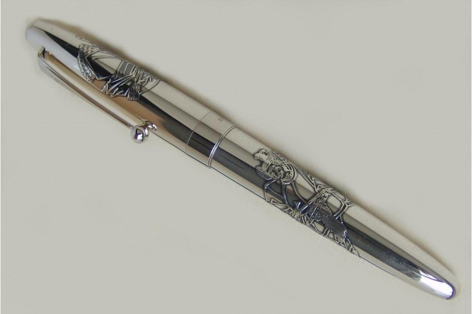 Namiki Sterling Silver ShoGun Fountain Pen