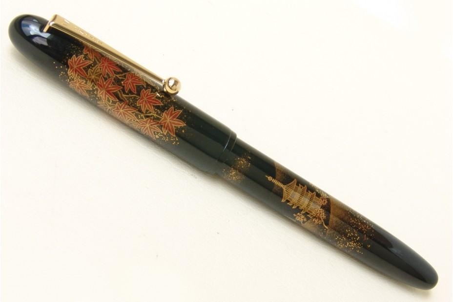 Namiki Yukari Maki-e Autumn Leaves Fountain Pen