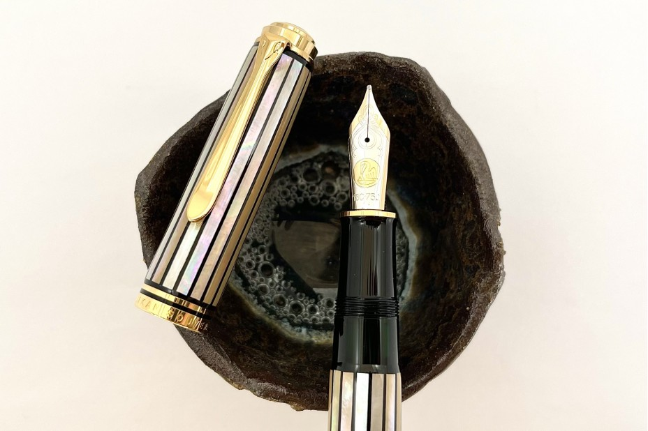 Pelikan Limited Edition Souveran M1000 Raden White Ray Fountain Pen