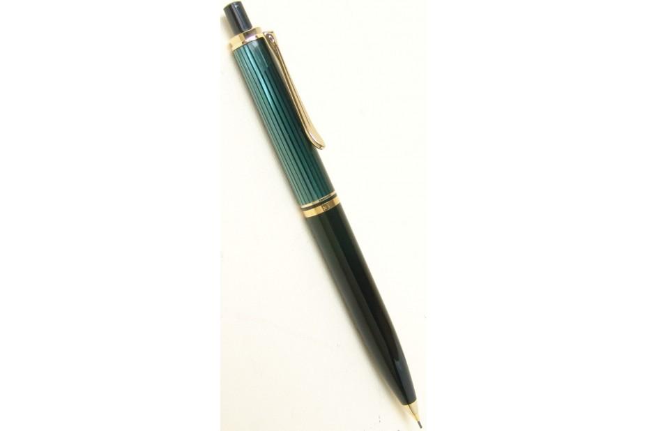 Pelikan Souveran D400 Green and Black Mechanical Pencil