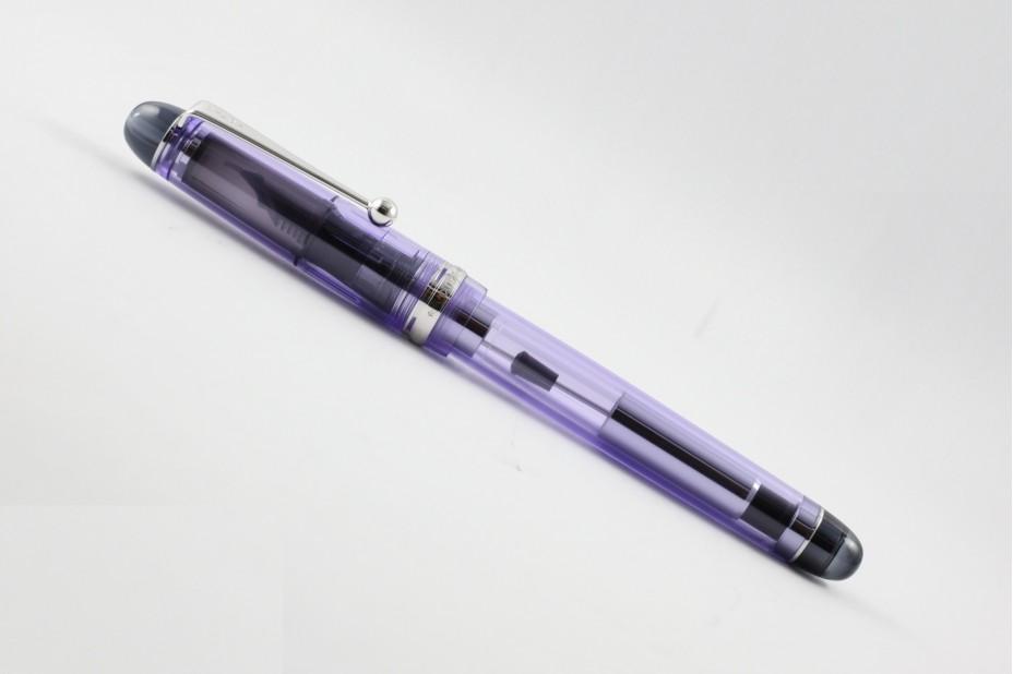 Pilot Custom 74 Transparent Violet Fountain Pen