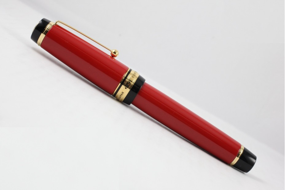 Pilot Custom Urushi Red Fountain Pen ( Size 30 Nib )