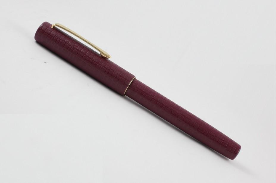Pilot Kawarinuri Urushi Ishime Red Fountain Pen