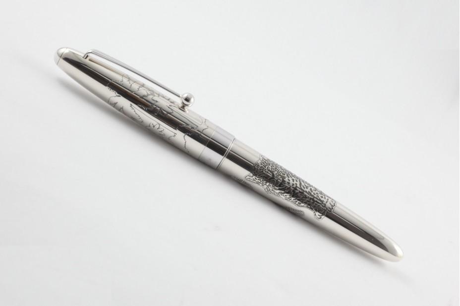 Pilot Limited Edition Sterling Silver Jaguar Fountain Pen