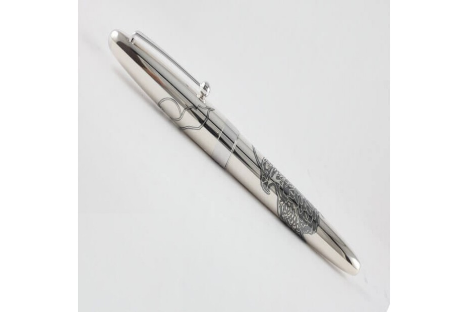 Pilot Sterling Silver Hawk Fountain Pen