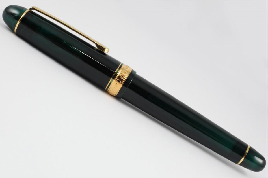 Platinum 3776 Century Laurel Green Fountain Pen