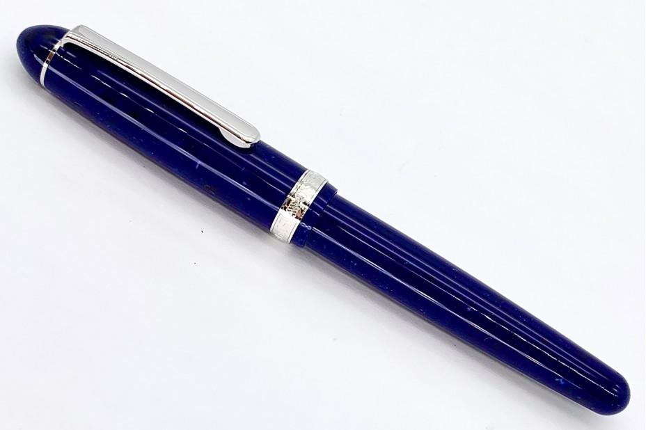Platinum 3776 Midnight Ocean Celluliod Fountain Pen