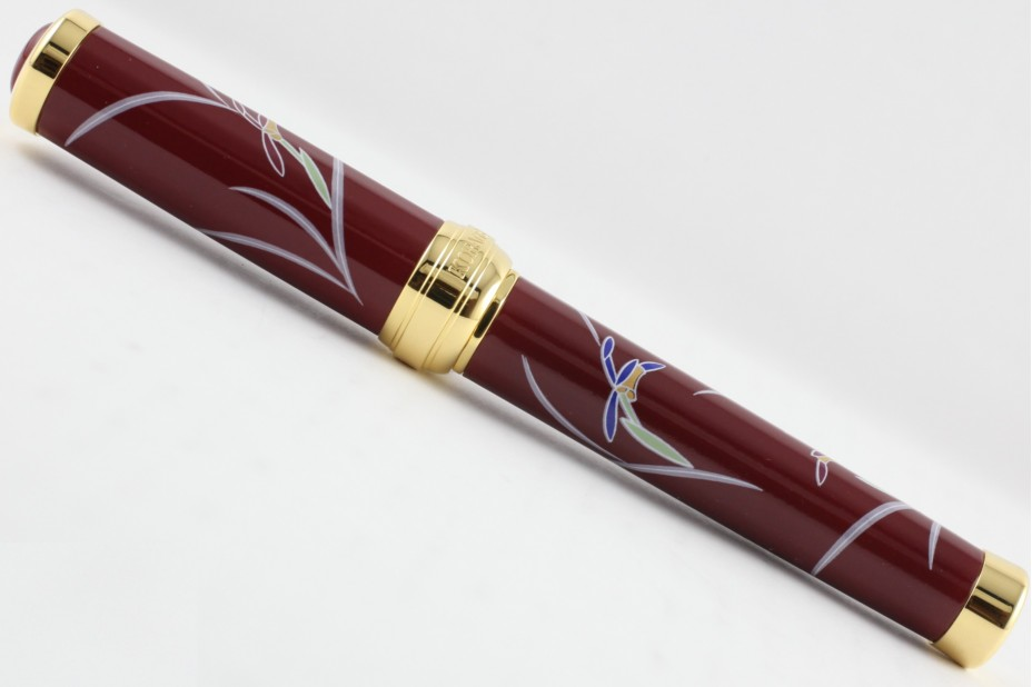 Sailor Arita Special Edition 400th Anniversary Koransha Venetian Red Ranka Gold Trim Fountain Pen