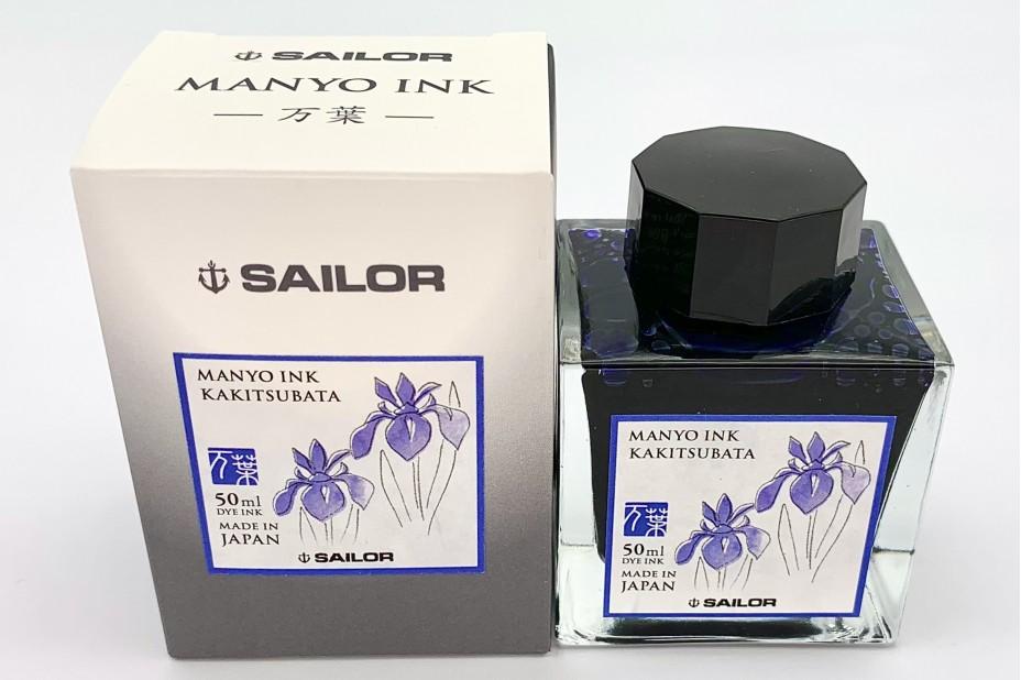 Sailor Manyo Ink Bottle 50ml - Kakitsubata