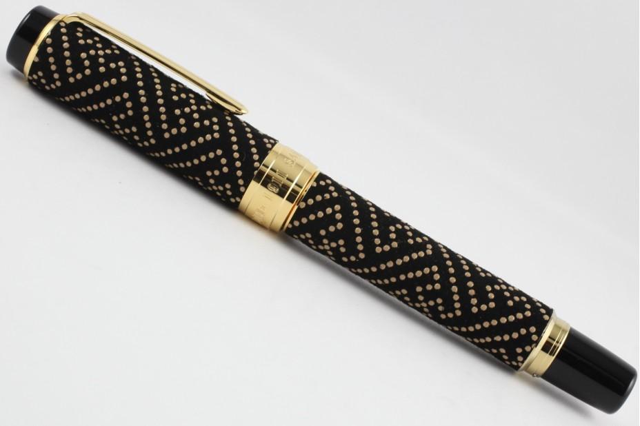 Sailor Koshu Inden Saya Black Fountain Pen