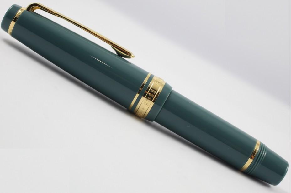 Sailor Progear Slim Sapporo Mini Slate Green Fountain Pen