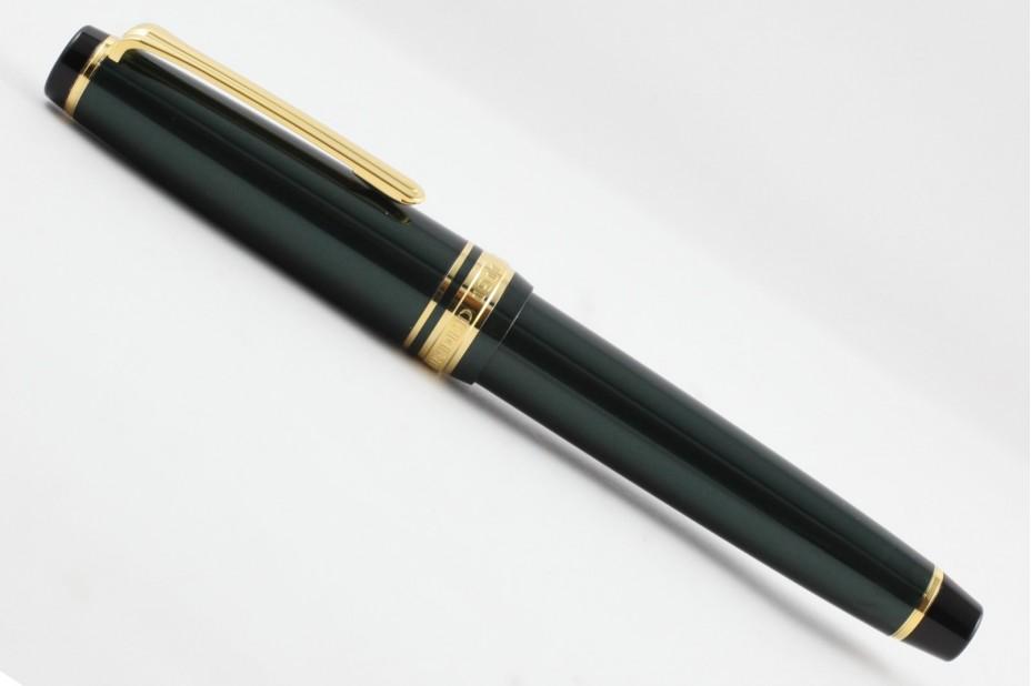 Sailor ProGear Slim Four Seasons Manyou Metallic Green Fountain Pen