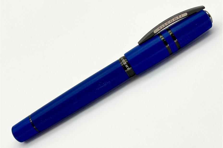 Visconti Homo Sapiens Lava Color Cobalt Blue Fountain Pen