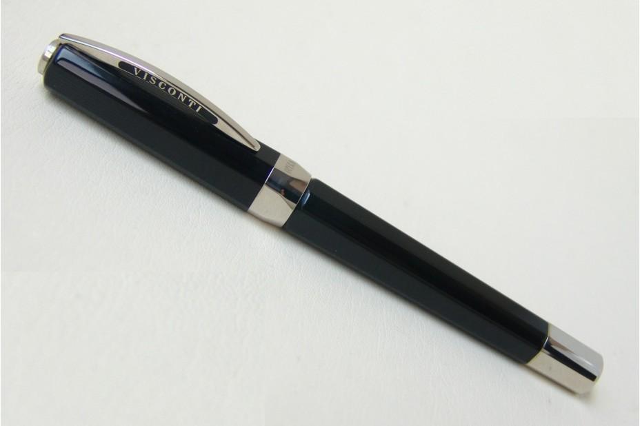 Visconti Opera Club Black Roller Ball Pen